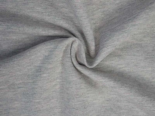 1459 Grey/Red Sweatshirt fabric
