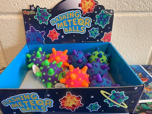 Flashing Meteor Balls