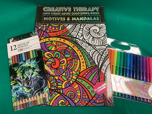 1334 Advanced Colouring Set - Adult