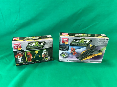 1235 Space hero's block spaceship and figures