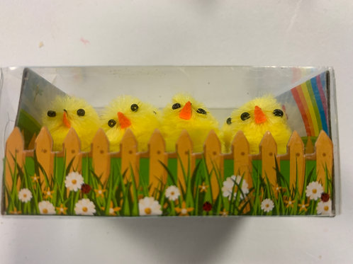 1486 Pack of 8 Mini Easter Chicks