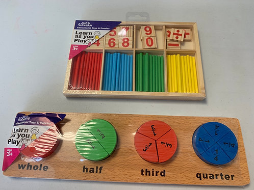 Maths and fractions set