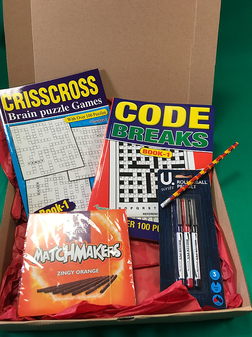 1249 Adults Relax Pack - Code Break Set 1