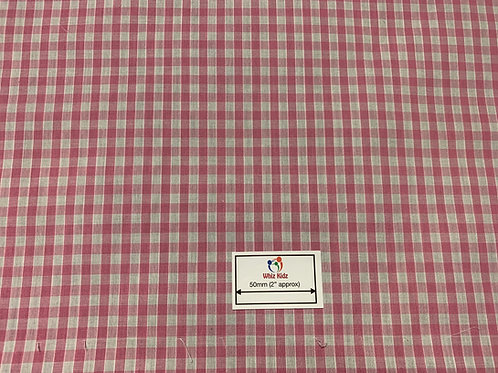 1147 Pale Pink gingham