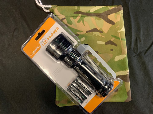 1409 Camouflage Bag & Torch