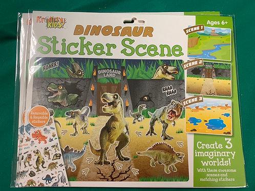 Sticker scene