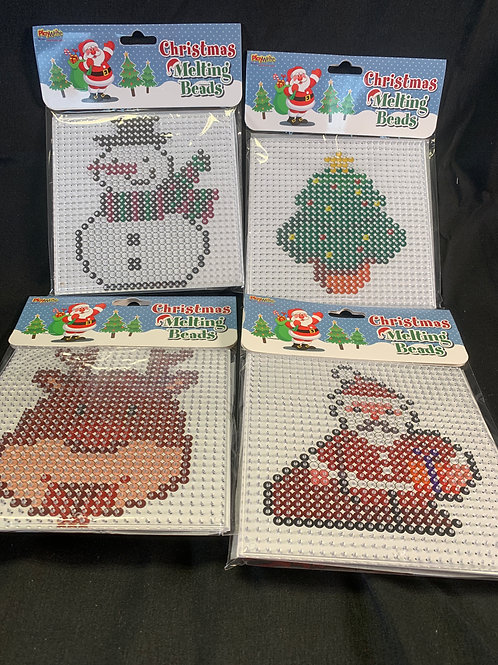 1213 Christmas Iron on fusible Beads