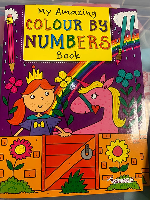 Colour by Numbers set