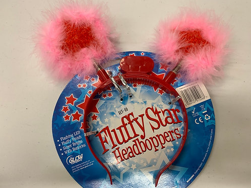 Fluffy star head boppers
