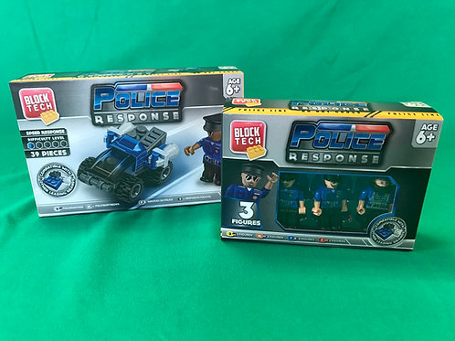 1236 Police Response brick set and figures