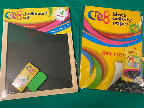 Chalks play set
