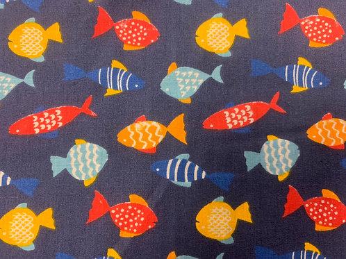 FFNB Funky fish polycotton