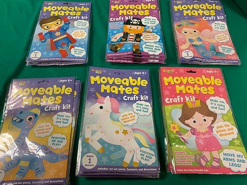 Moveable Mates craft kit