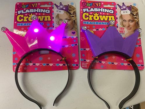 Flashing crown