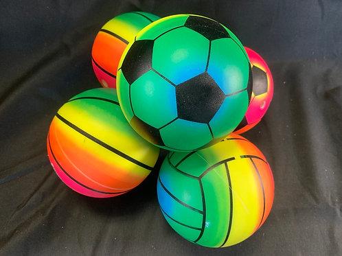 1184 Neon soft sports balls