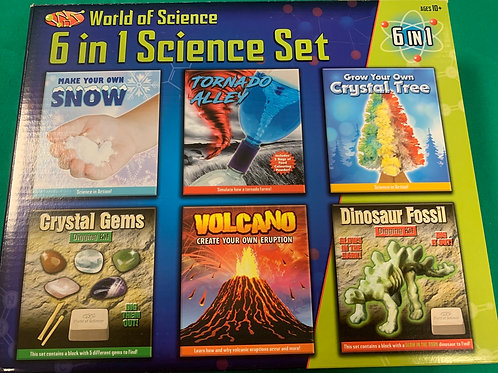 6 in 1 Science Set