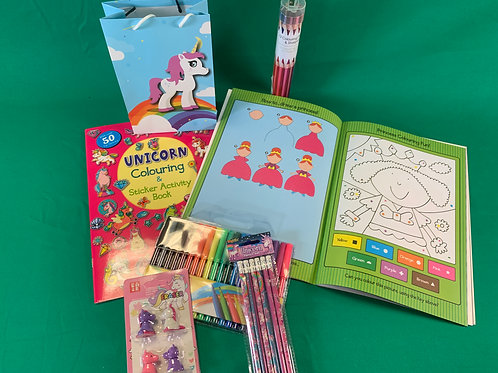 1244 Unicorn & Princess Sticker Activity Book Set