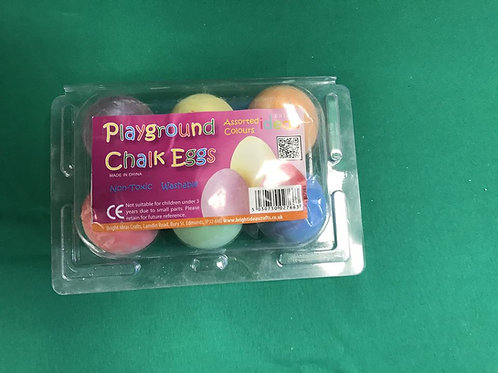 1469 Chalk Eggs