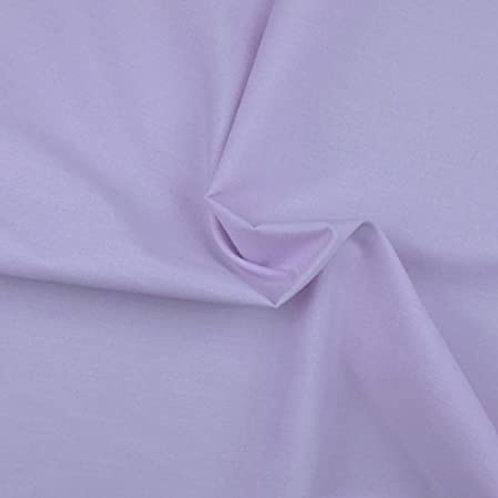 Lilac polycotton
