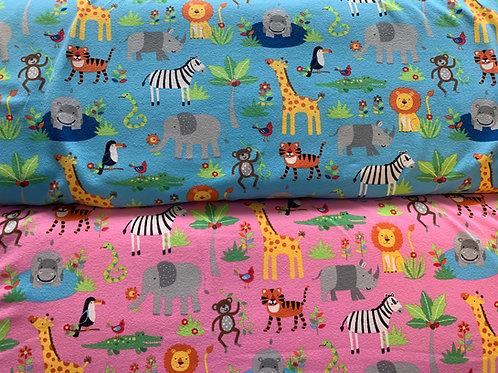 1681 - Bright Animal Cotton Jersey