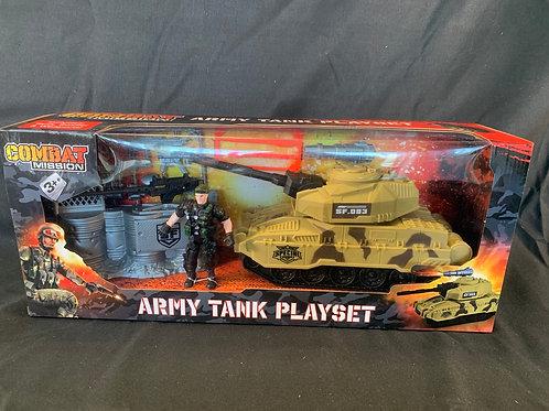 1163 Army Tank playset