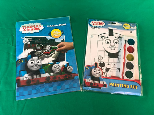 1255 Thomas & Friends Sticker and Painting Set
