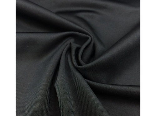 1539 Polyester Jersey - Black