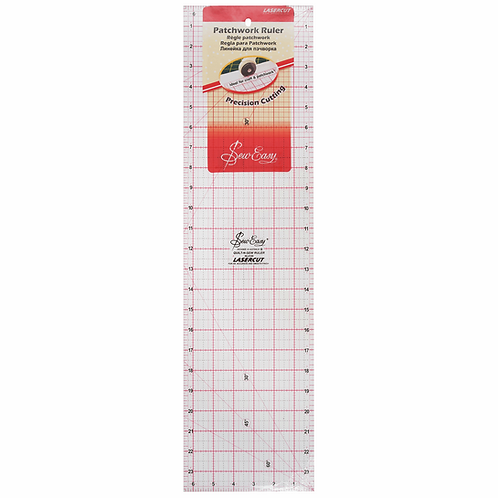 1663 24x6.5 inch Patchwork Ruler