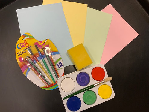 1390 Jumbo Block Paint Set