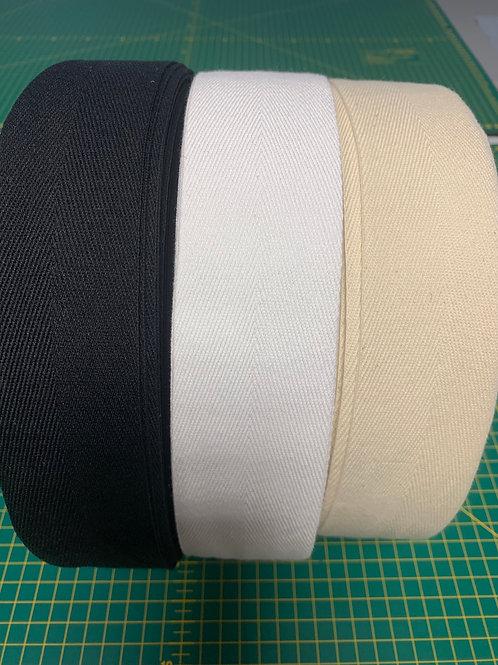 1685 - 50mm Cotton Herringbone Tape