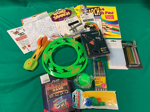 Adult/Family Craft and activities pack