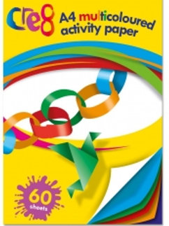 1283 A4 Multi-Coloured Activity paper pad