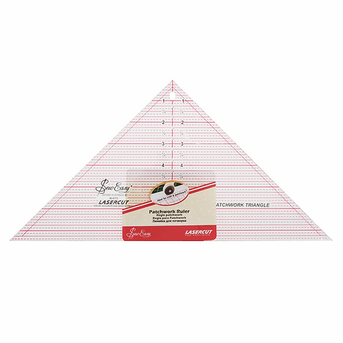 1697 - Quilting 90 Deg Triangle - Patchwork Ruler