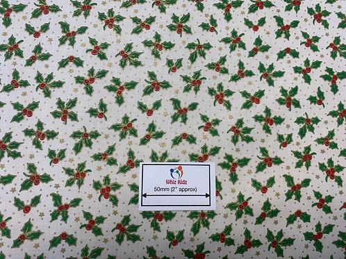 1140 Ivory Holly Fabric