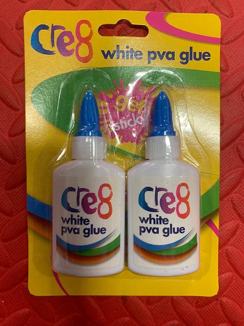 1280 PVA Glue - 2 x 60ml Pack