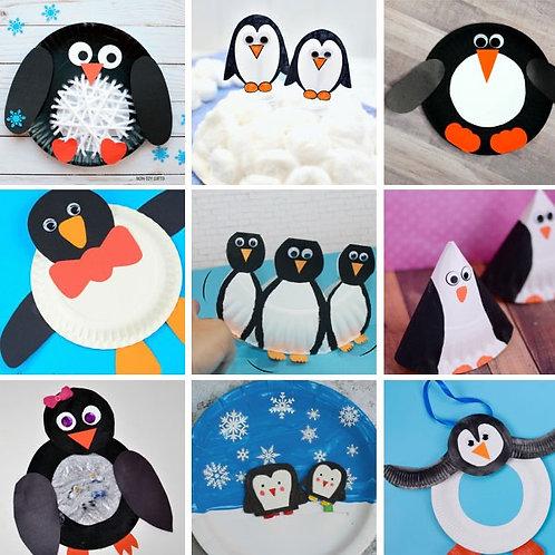 Penguin craft pack
