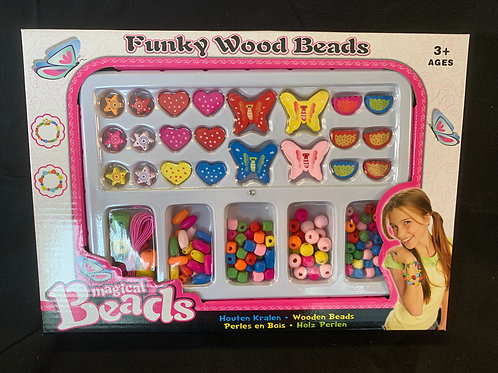 1199 Funky Wooden Beads