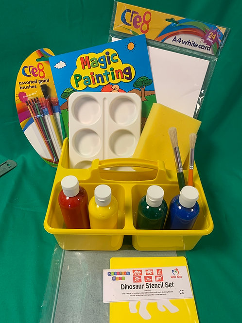 Art caddy  painting set