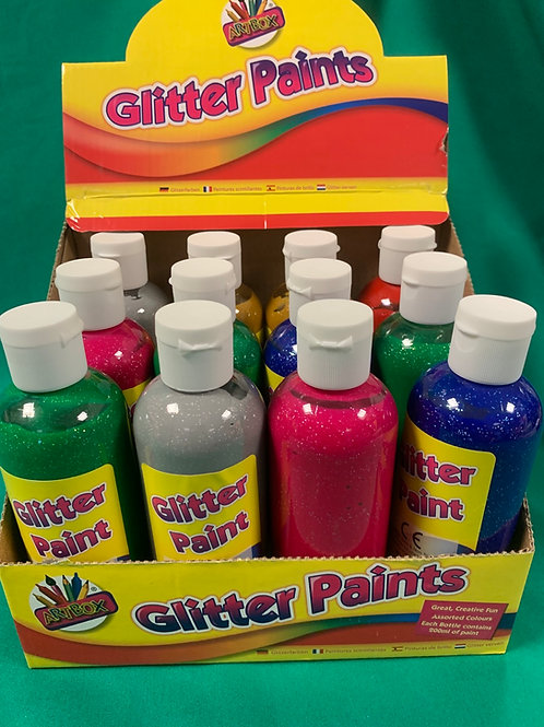 Glitter poster paints