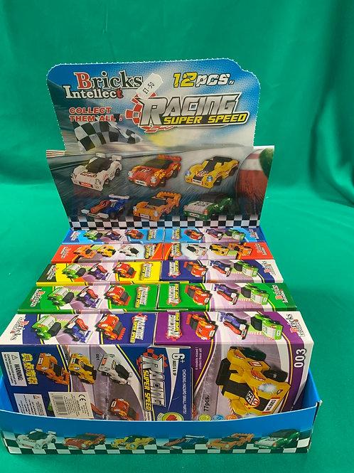 Brick racing cars