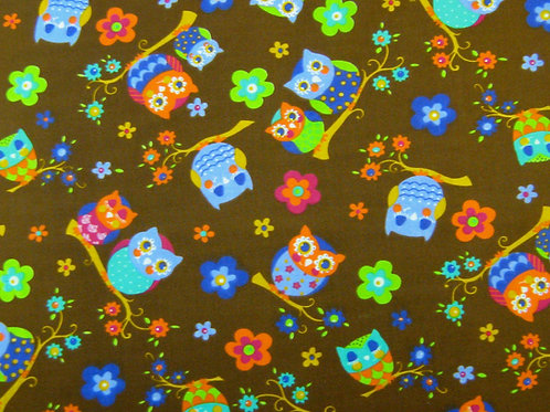 1527 Brown Owl - Polycotton