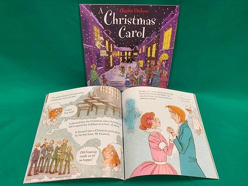 1322 'A Christmas Carol' Story Book