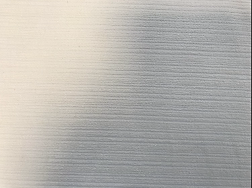 Cream ribbed fabric