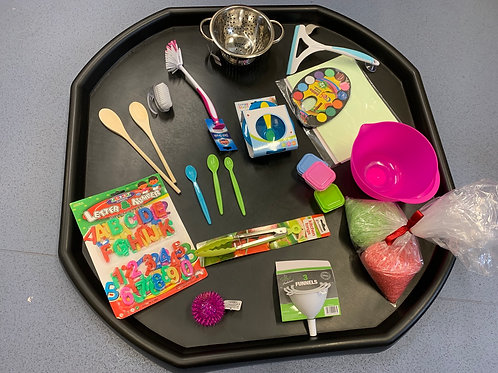 Tuff Tray with count 123 accessories