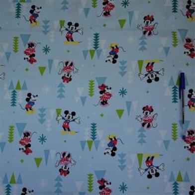 1637 Happy Mice - 100% Cotton