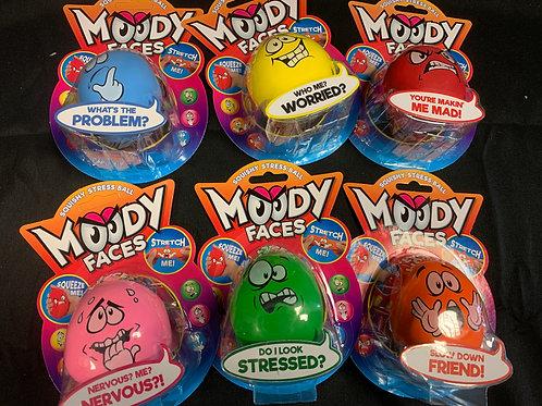 1393 Moody faces stress ball