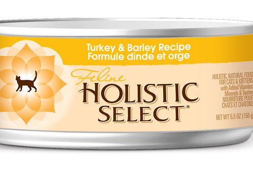 Holistic Select:Turkey & Barley (156 gm):10 Cans