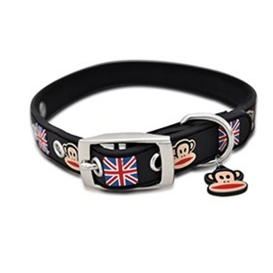 Paul Frank Rubber Collar Union Jack L (51-63cm)