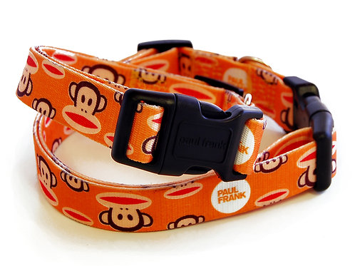 Paul Frank Collar :Signature Julius Orange (S,M,L)