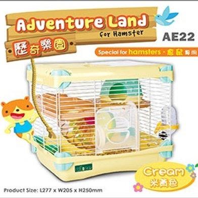 Alice Adventure Land -Hamster Cage- CREAM